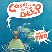 production poster for Connected in the Deep